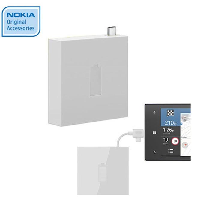 Външна батерия/power bank/ Nokia Universal Portable USB Charger 1720 mAh, бял image