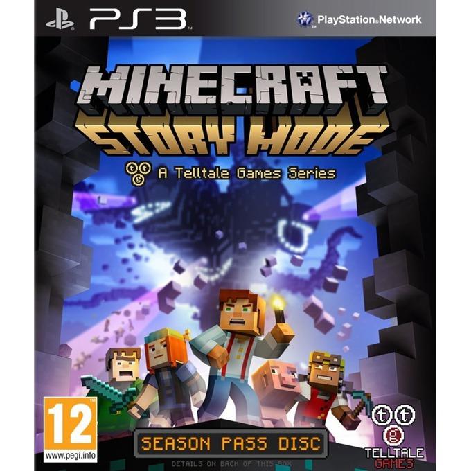 Игра за конзола Minecraft: Story Mode - Season Disc, за PlayStation 3 image