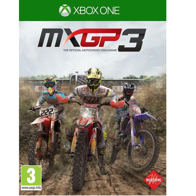Игра за конзола MXGP 3: The Official Motocross Videogame, за Xbox One image