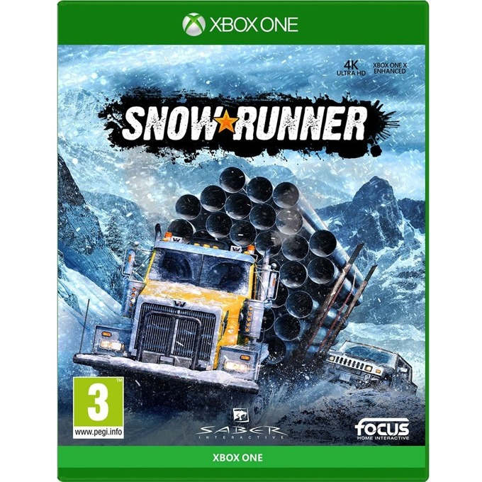 Игра за конзола Snowrunner: A Mudrunner game, за Xbox One image