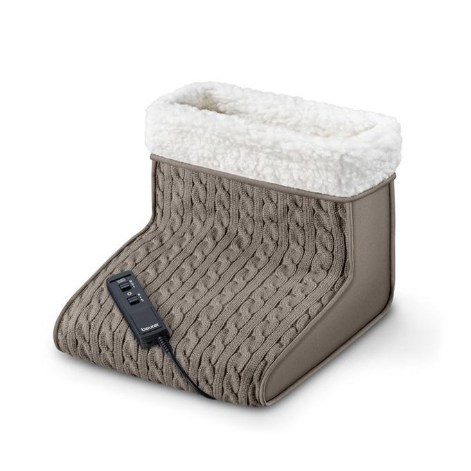 Масажор и отоплител за крака Beurer FWM45, 16W, 2 нива масаж, 2 температурни настройки, кафяв image
