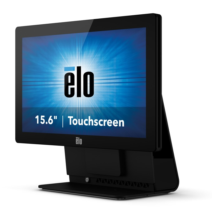 """Монитор Elo E318746 ET1502L-2UWB-1-G, 15.6""""(39.62 cm), TN LED тъч панел, HD, 10 ms, 187 cd/m2, HDMI, VGA, черен image"""