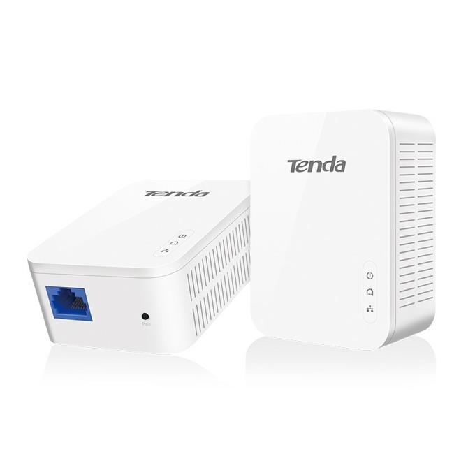 Powerline адаптери Tenda PH3 AV1000, 1000Mbps, до 300м обхват, 1x 10/100/1000 Ethernet порт, 2 устройства image