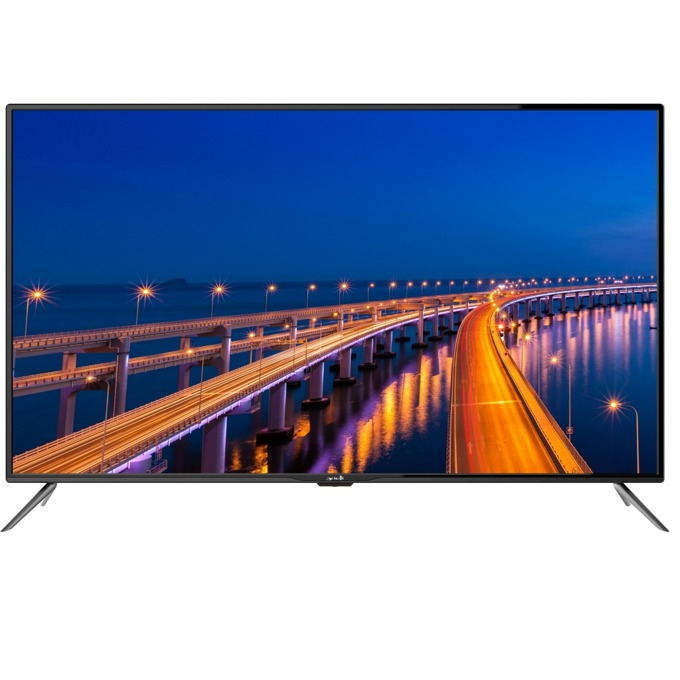 "Телевизор Arrieli LED-55Z1UHD, 55"" (139.7 cm) 4K 3840x2160 pix. Smart TV, DVB-T2CS2, Android 7.0, Wi-Fi, 3x HDMI, 2x USB, image"