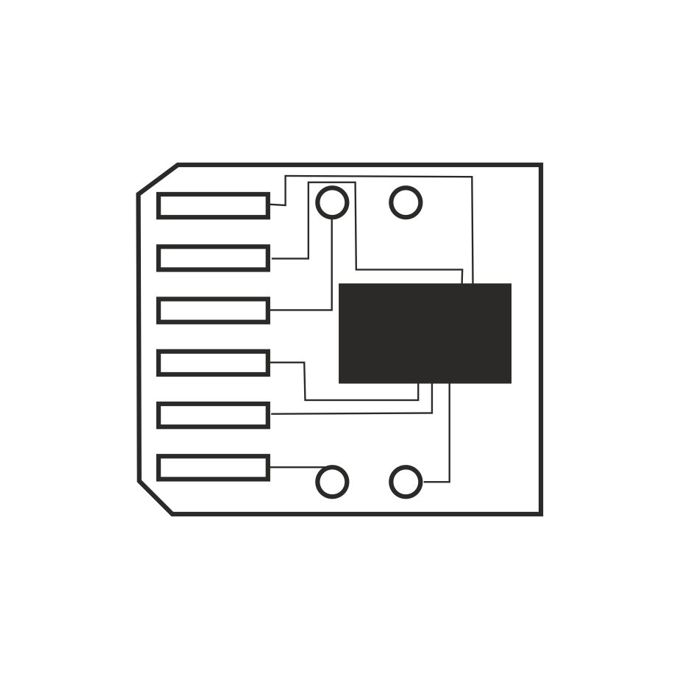 ЧИП (chip) ЗА SAMSUNG SCX 4300 - Chip - PCP - заб.: 2000k image