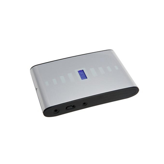 Bъншна батерия/power bank A-solar Titan Laptop Charger AM600, 13200 mAh, 2x USB изход, cоларна, сива image