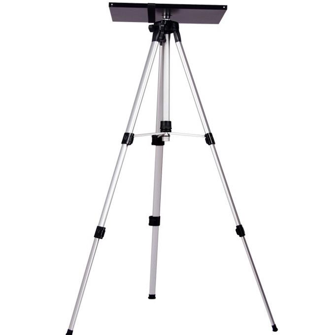 Трипод за видеопроектор, мин/макс. височина 55–40 см, 10кг товароносимост, студено валцована стомана, черен image