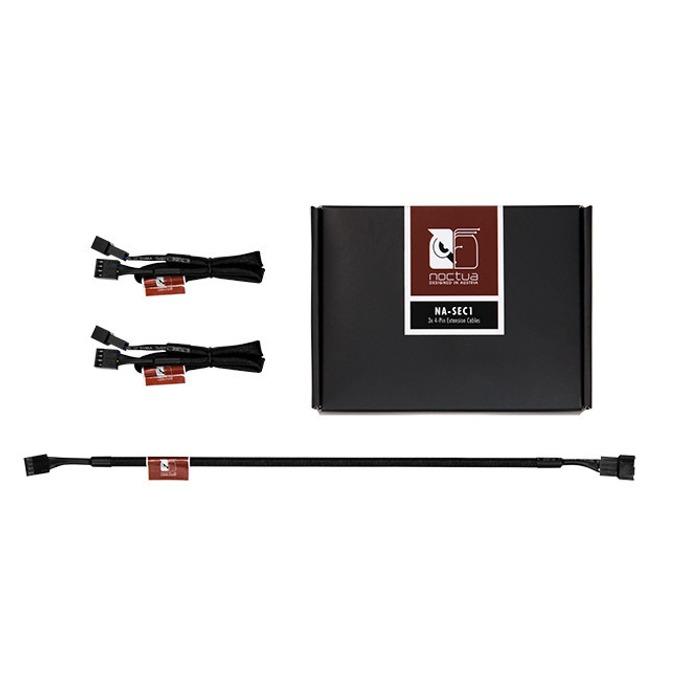 Удължителен кабели 4 pin, Noctua NA-SEC1, 3 броя, 30cm image