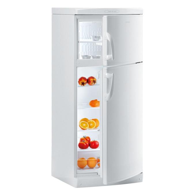 Хладилник с фризер Gorenje RF 6278 W, клас A+, 259л. общ обем, свободностоящ, 247 kWh/годишно, механично управление, смяна на посоката на отваряне на вратата, бял image