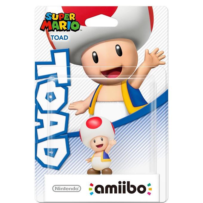 Фигура Nintendo Amiibo - Toad, за Nintendo 3DS/2DS, Wii U image