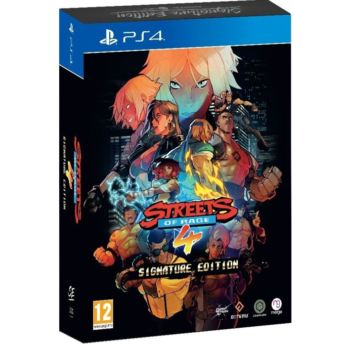 Игра за конзола Streets of Rage 4 Signature Edition, за PS4 image