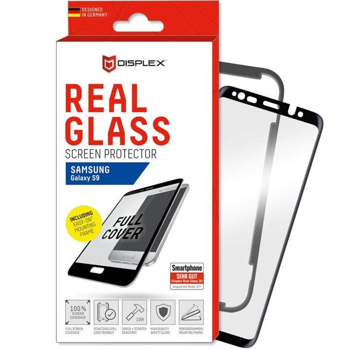 Протектор от закалено стъкло /Tempered Glass/, Displex за Samsung Galaxy S9 image