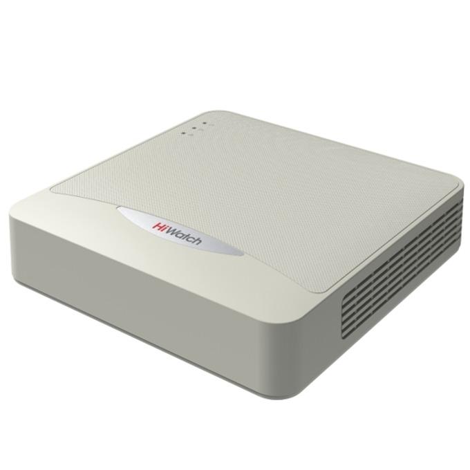 IP видеорекордер HiWatch DS-N108, 8 канала, H.264, 1x SATA, 2x USB 2.0, 1x RJ-45, 1x HDMI, 1x VGA image