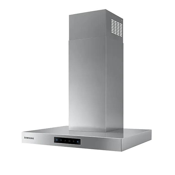 Абсорбатор Samsung NK24M5060SS/UR, колонен, за вграждане, енергиен клас B, въздухопоток 531 m3/h, инокс image