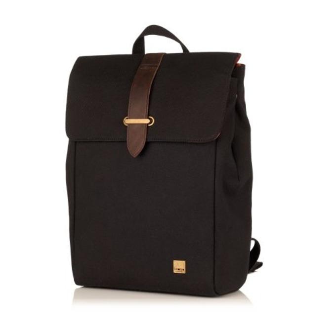 """Чанта за лаптоп Knomo Falmouth Backpack, 15.4""""(39.3 cm), естествена кожа, черен image"""