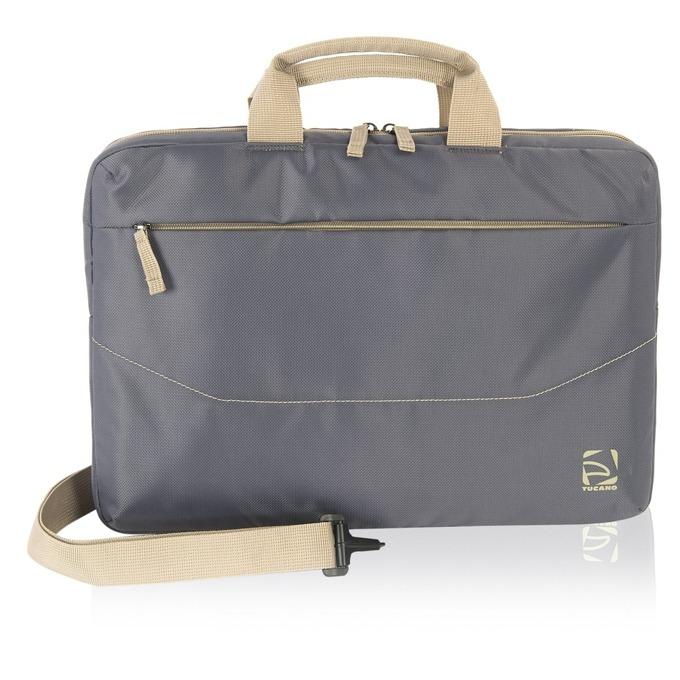 "Чанта за лаптоп TUCANO Borsa Slim, 15.6""(39.62cm), сива image"