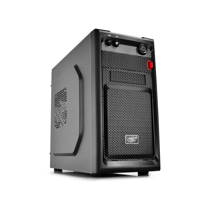 Кутия Case mATX SMARTER - Black, USB3.0