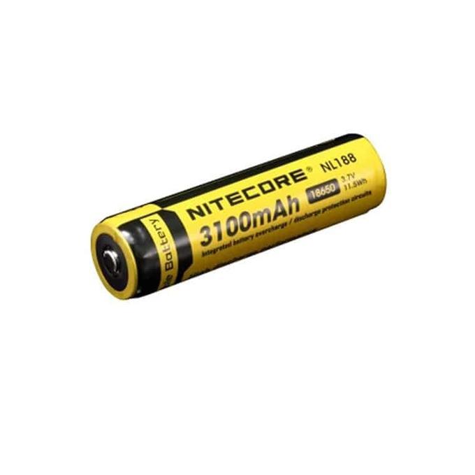 Акумулаторна батерия Nitecore NL188, 3.7V, 3100mAh, Li-ion, защитена, 1 бр. image