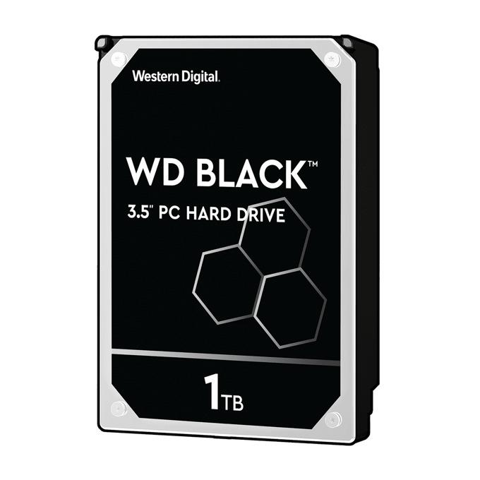 """Твърд диск 1TB WD Black (FZEX), 3.5"""" (8.89 cm), SATA 6Gb/s, 7200rpm, 64MB, 5г. гаранция image"""