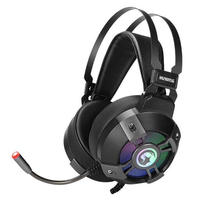 Слушалки Marvo HG9015G, микрофон, RGB, гейминг, USB 2.0, 7.1 Virtual Surround sound, черни image