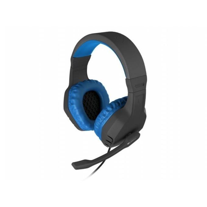 Слушалки Natec Genesis Argon 200, микрофон, геймърски, черно/сини  image