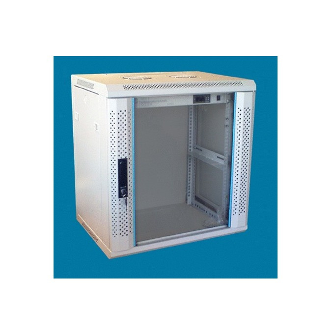 "Комуникационен шкаф Toten WM.6415, 19"", 15U, 600x450 мм, до 60кг товароносимост, IP20 защита image"