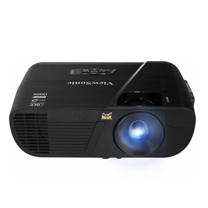 Проектор Viewsonic PJD6352, DLP, 3D, XGA (1024x768), 15,000:1, 3500 lm, вграден Wi-Fi, вградена колонка 10W, микрофон, Video/Audio Streaming, HDMI, D-Sub image