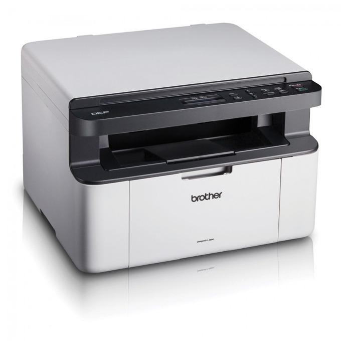 Мултифункционално лазерно устройство Brother DCP-1510E, монохромен лазерен принтер/копир/скенер, 2400x600dpi, 20стр/мин, USB, A4 image
