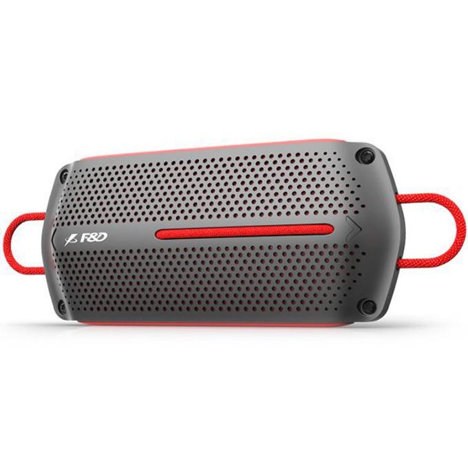 Тонколона Fenda F&D W12, 2.0, 8W RMS (4W + 4W), USB, сиво-червена image