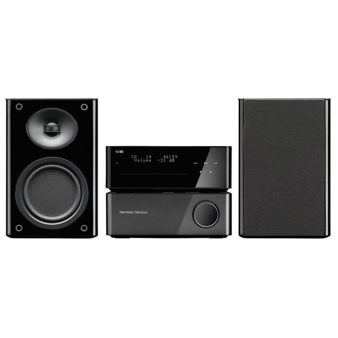 Тонколони Harman Kardon MAS 110, 2.1, 165W, USB, черни, CD плеър, поддържа MP3/WMA, дистанционно image
