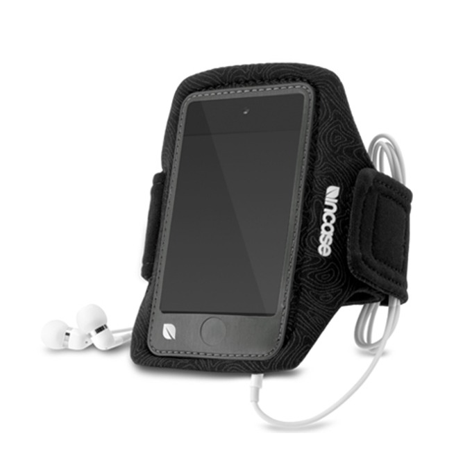 Калъф за ръка InCase Sports Armband, влагоустойчив, защитно фолио, за iPod Touch 4, черен image