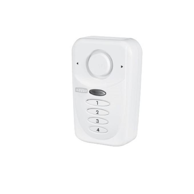 Сензор Xavax 111982, за прозорец/врата, с батерии, активация/деактивация с PIN код image