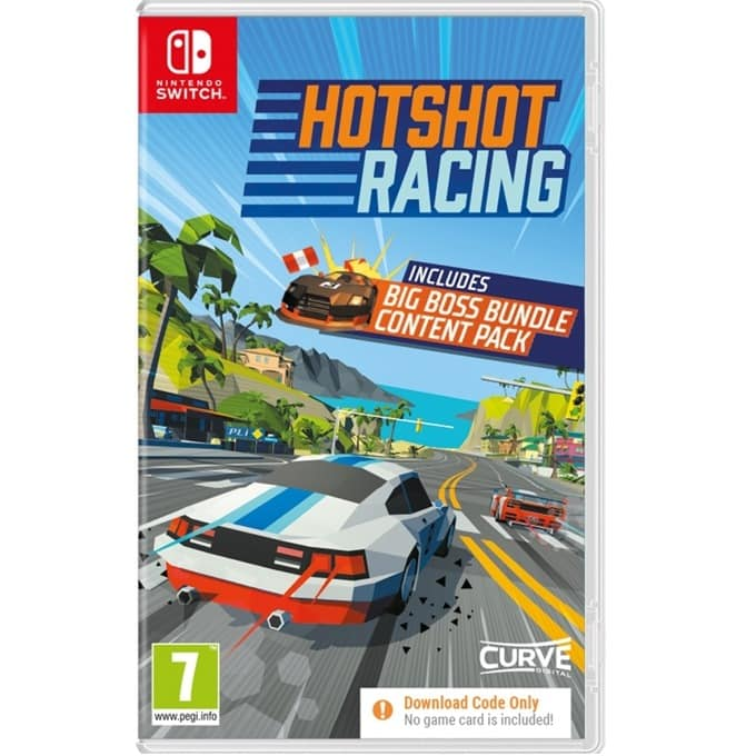 Hotshot Racing - Code in a Box Nintendo Switch product