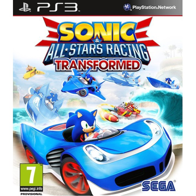 Sonic & All-Stars Racing Transformed, за PlayStation 3 image