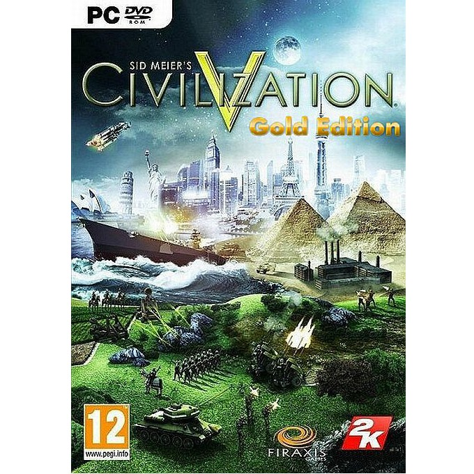Игра Civilization V Gold Edition, за PC image