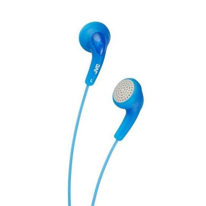 Слушалки JVC HAF140 Gumy, леки и практични, сини image