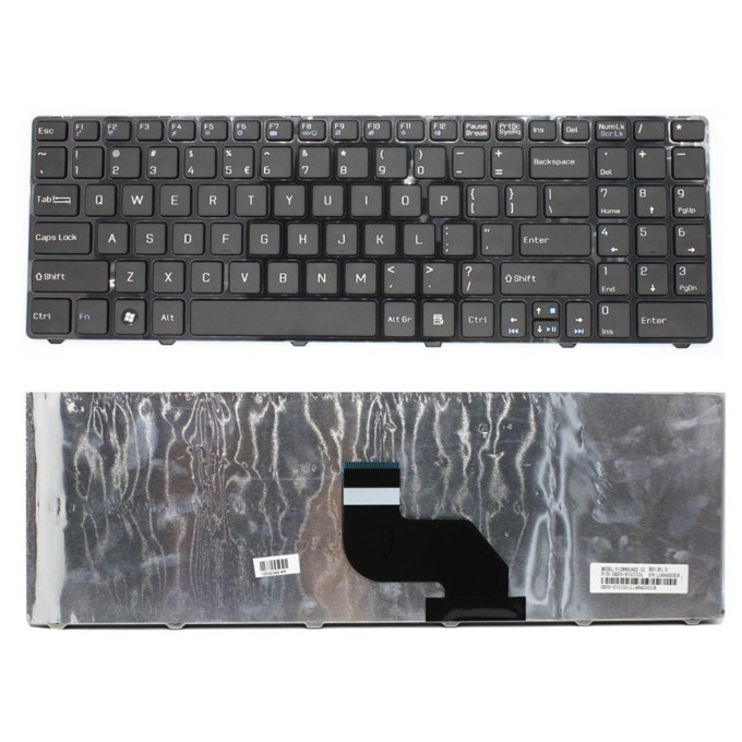 Клавиатура за MSI CR640 CX640 MS-16Y1, US, черна image
