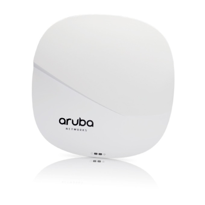 Аксес пойнт HPE Aruba IAP-325 (RW) Instant, 2.4GHz(600Mbps)/5GHz(1733Mbps), 2xLan 10/100/1000 PoE, 8x вътрешни антени image