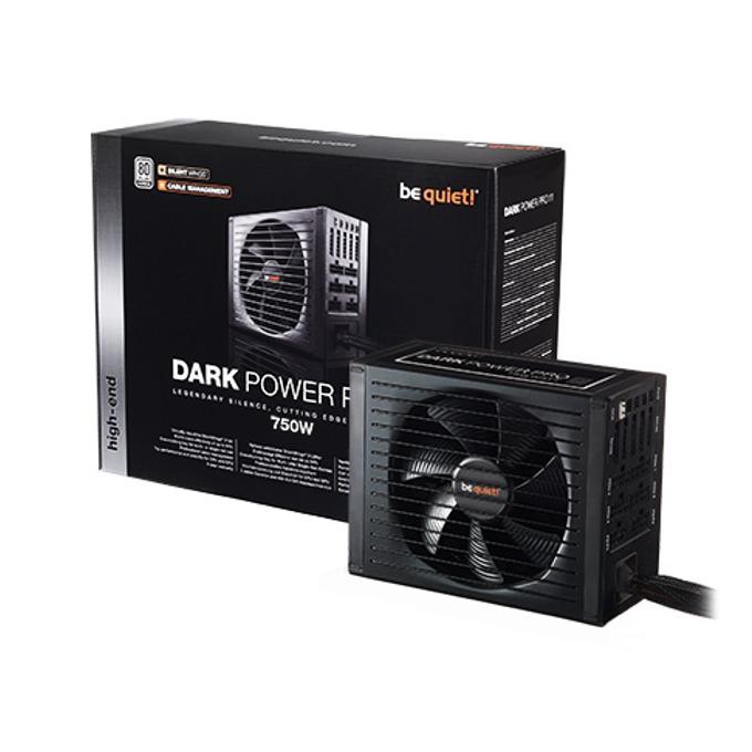 Захранване Be Quiet DARK POWER PRO 11, 750W, Active PFC, 80+ Platinum, 135mm вентилатор image