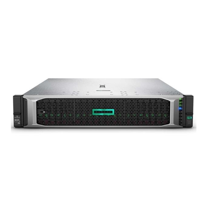 Сървър HPE DL380 G10 875671-425, осемядрен Intel Xeon Silver 4110 2.1/3.0GHz, 16GB DDR4 DIMM, 600GB(2x 300GB SAS 10k rpm), 4x RJ-45, 1x Display Port, 5x USB 3.0, microSD слот, без OS, 500W захранване image