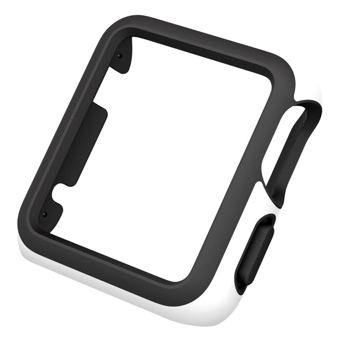 Страничен протектор Speck CandyShell Fit за Apple Watch 38mm CandyShell Fit, бял/черен image