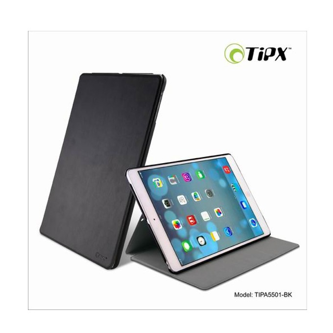 Калъф за iPad Air, Flip Cover, кожен, Tipx Airslim Collection, черен image