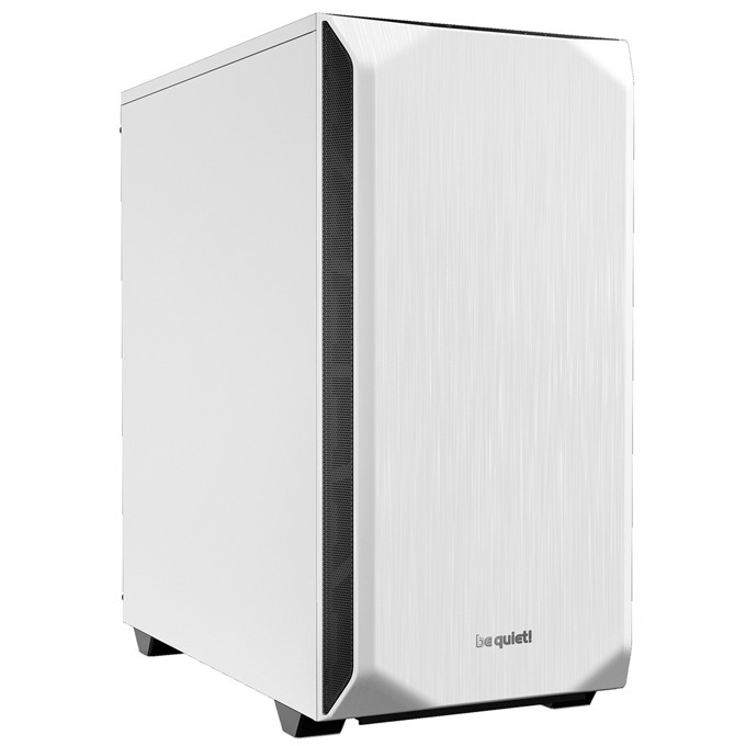 Кутия be quiet PURE BASE 500, ATX/M-ATX/MiniITX, 2x USB 3.0, бяла, без захранване image
