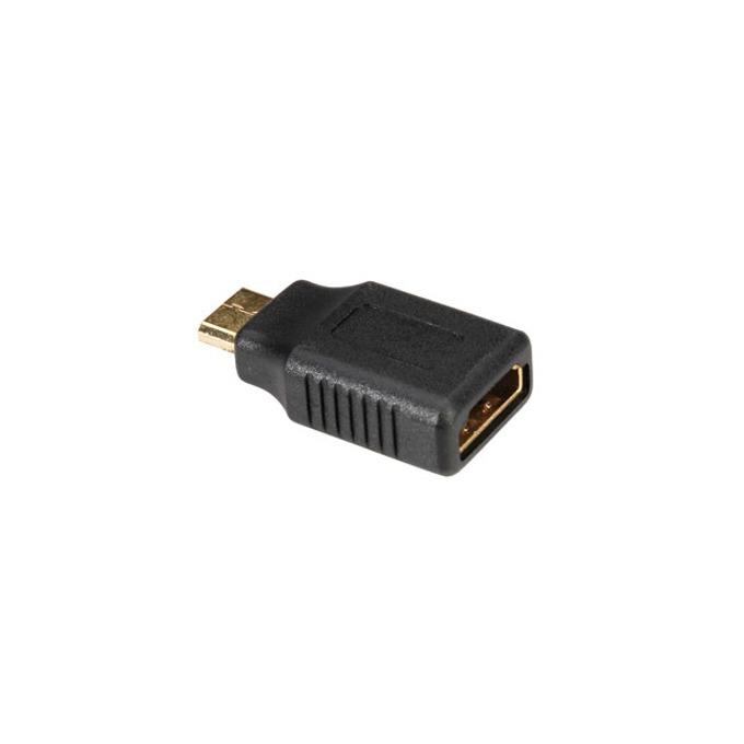 Преходник Roline, от HDMI(ж) към Mini HDMI(м), черен image