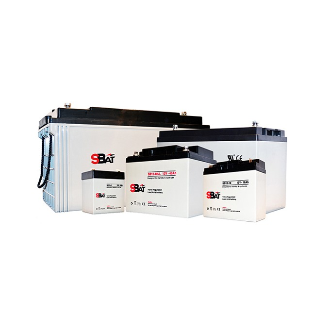 Акумулаторна батерия SBat SB12-12, 12V, 12Ah, VRLA image