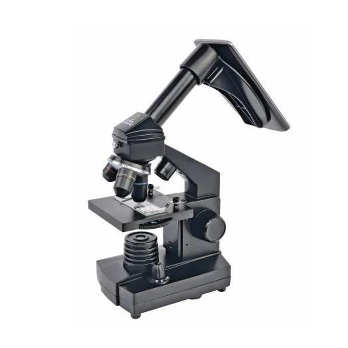 Микроскоп Bresser National Geographic 72351, 40x–1280x оптично увеличение, с поставка за телефон image