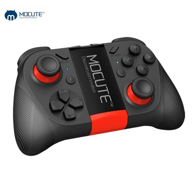 Безжичен контролер MOCUTE 050, Bluetooth 3.0, до 10м обхват, до 40 часа време за работа, универсален за Android/iOS/PC, вградена поставка за смартфон, USB, черен image