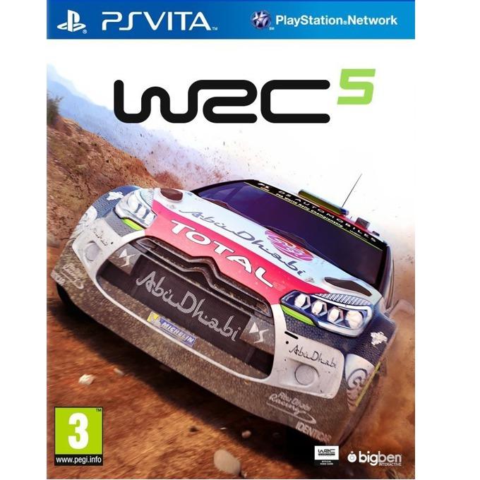 Игра за конзола WRC 5, за PSVITA image