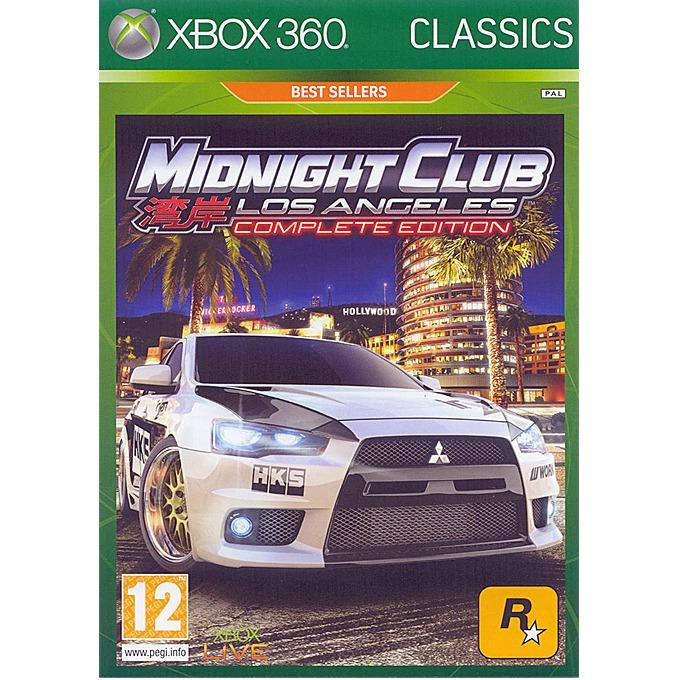 Игра за конзола Midnight Club LA Complete Edition (Platinum), за XBOX360 image