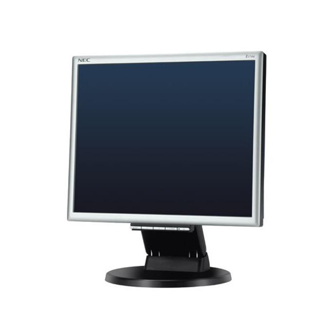 """Монитор 17""""(43.18) NEC LCD TN LED E171M, DVI,D-Sub,монитор, черен / сив, 5:4, 1000:1, 1280х1024, 1+1W Speakers, екстри image"""